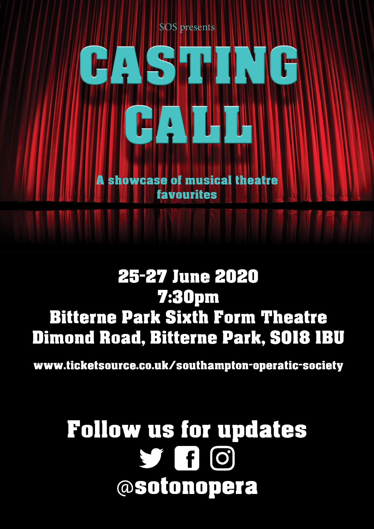 casting call poster small